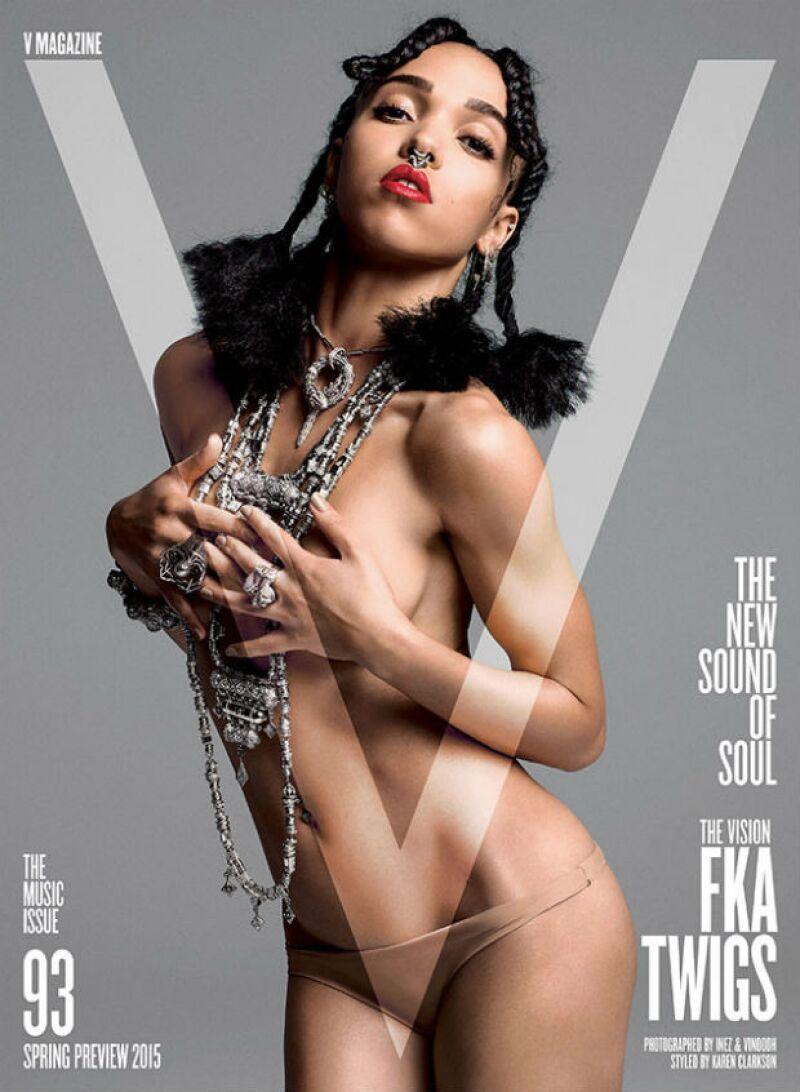 Así luce la artista de 26 años en una de las cuatro portadas del más reciente especial de la publicación.