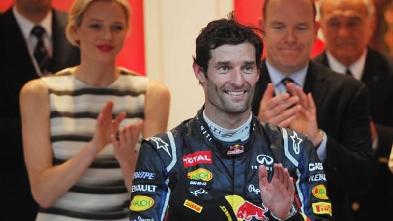 Mark Webber gana el Gran Premio de Monaco
