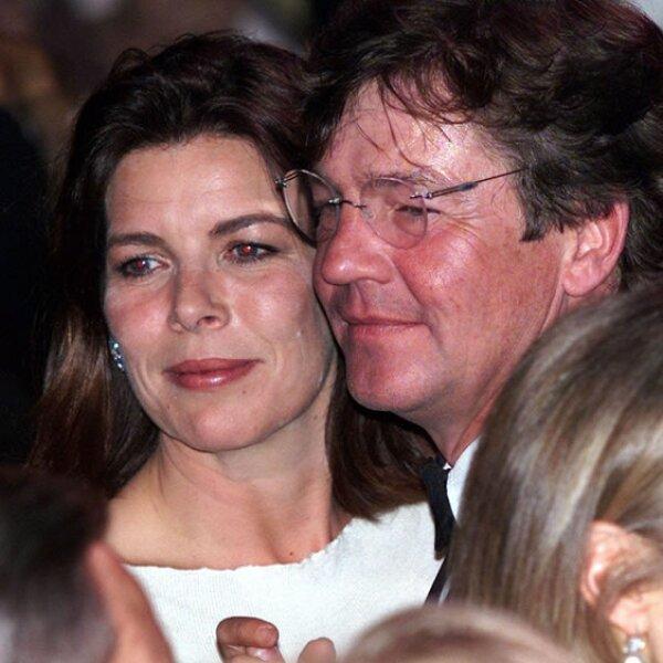 Por lo que es la heredera al trono monegasco. (Aquí con su esposo Ernst August of Hanover en 2010).