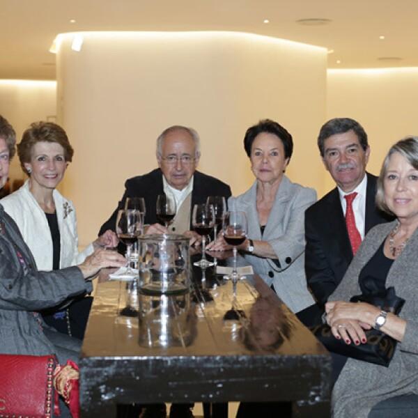 Maruja Candano,María Verdía,Manuel Castro,Guadalupe Castro,Federico Castillo y Luz Castillo