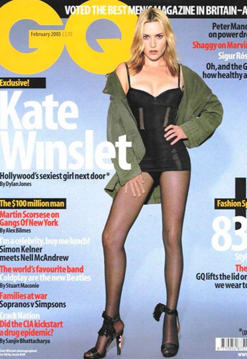 Esta fue la portada que molestó a Kate Winslet.