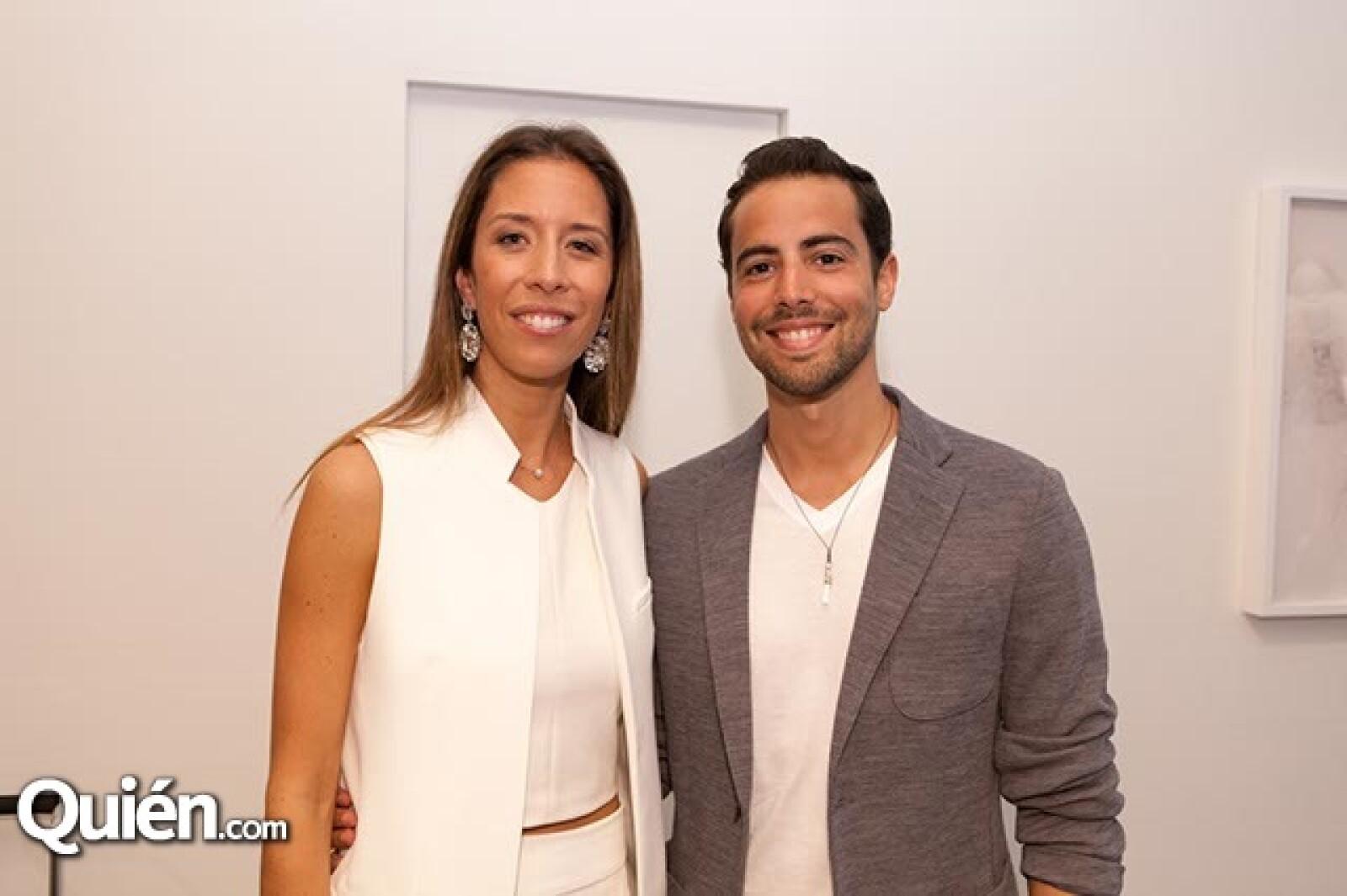 Juana Domenzain Girault y Luis Gigen