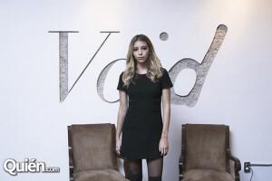 La joven ya cuenta con su propia vintage boutique Void.