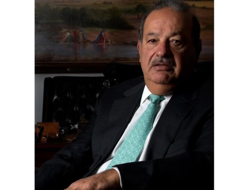 El empresario mexicano se posicionó, por tercer año consecutivo, en el primer sitio de la lista de los hombres más ricos que publica la revista Forbes.