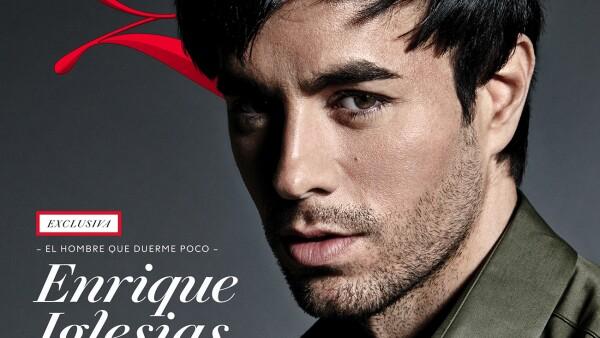 Enrique Iglesias en portada de Quién.