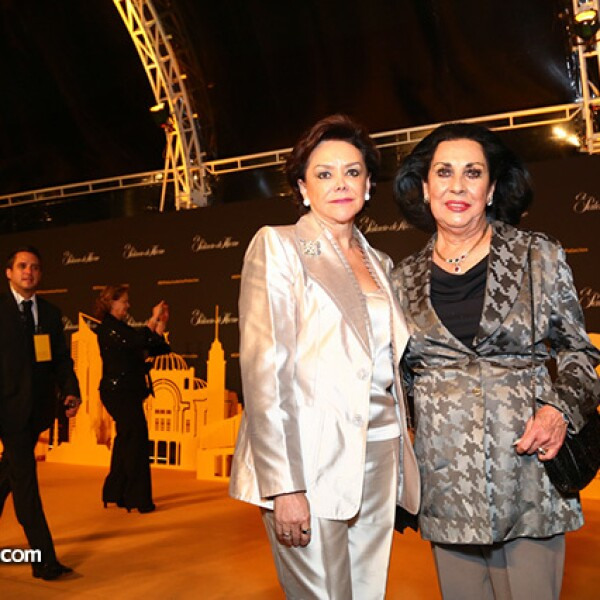 Adriana Salinas y María Eugenia Alarcón