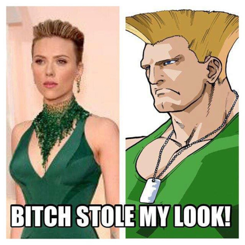 Scarlett Johansson, una víctima más de los memes.