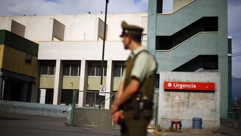Chile hospital ébola paciente