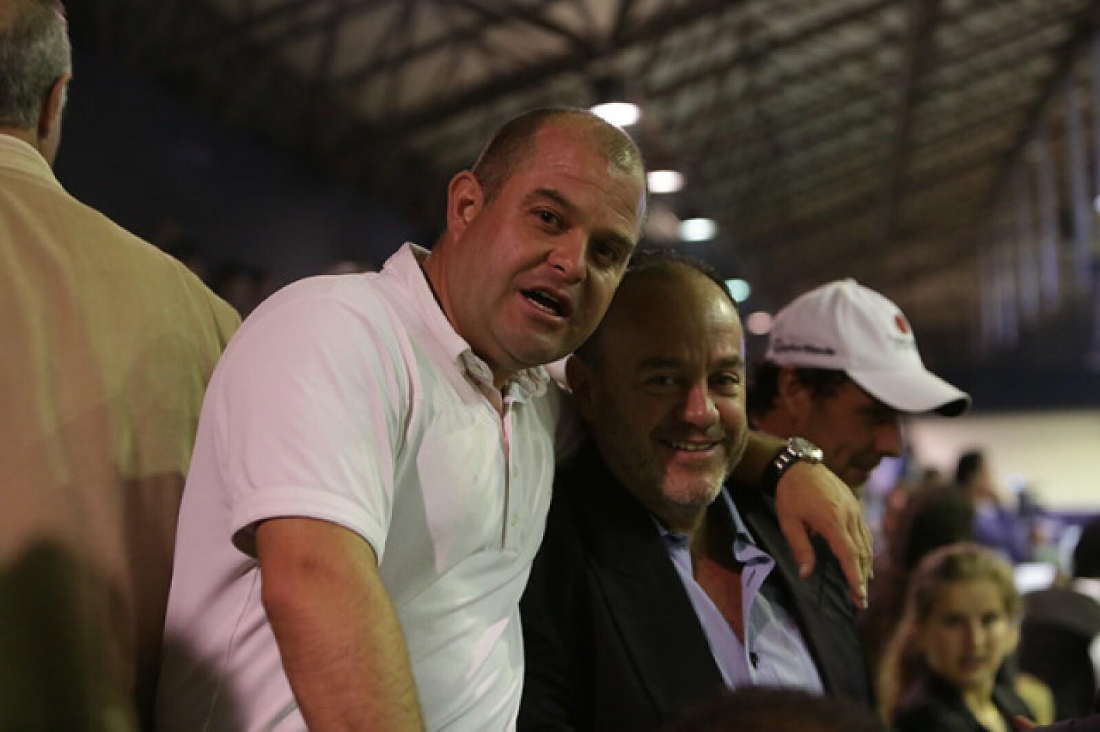 Mauricio Becker y Juán Manuel Riego