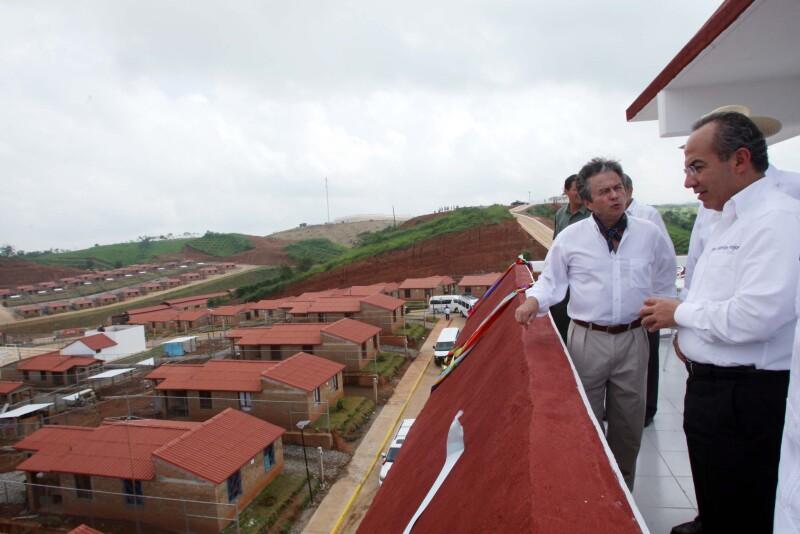 El Gobierno federal pretende llevar a cabo 25 Ciudades Rurales Sustentables en todo el país. (Foto: Cortesía Presidencia de la República)