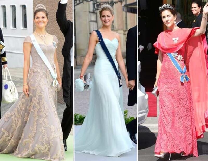Victoria de Suecia, Tatiana de Grecia y Mary de Dinamarca lucieron espectaculares vestidos, mientras que dejaron mucho que desear Charlene de Mónaco, Marie de Grecia y Estefanía de Luxemburgo.