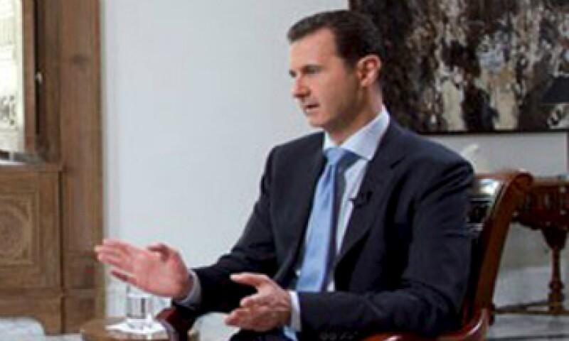 El presidente sirio rara vez concede entrevistas. (Foto: Reuters)