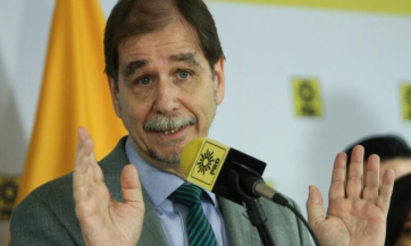 El dirigente nacional del PRD dijo que buscarán alianzas con el PAN en otros estados. (Foto: Cuartoscuro)