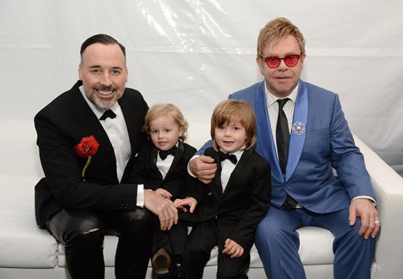 "Los hijos de Elton John fueron catalogados indirectamente por Dolce & Gabbana como ""sintéticos""."