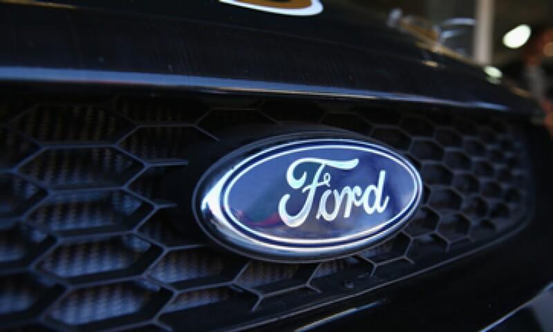 En el 2014 Ford fue el quinto mayor productor de vehículos ligeros en México. (Foto: Getty Images )