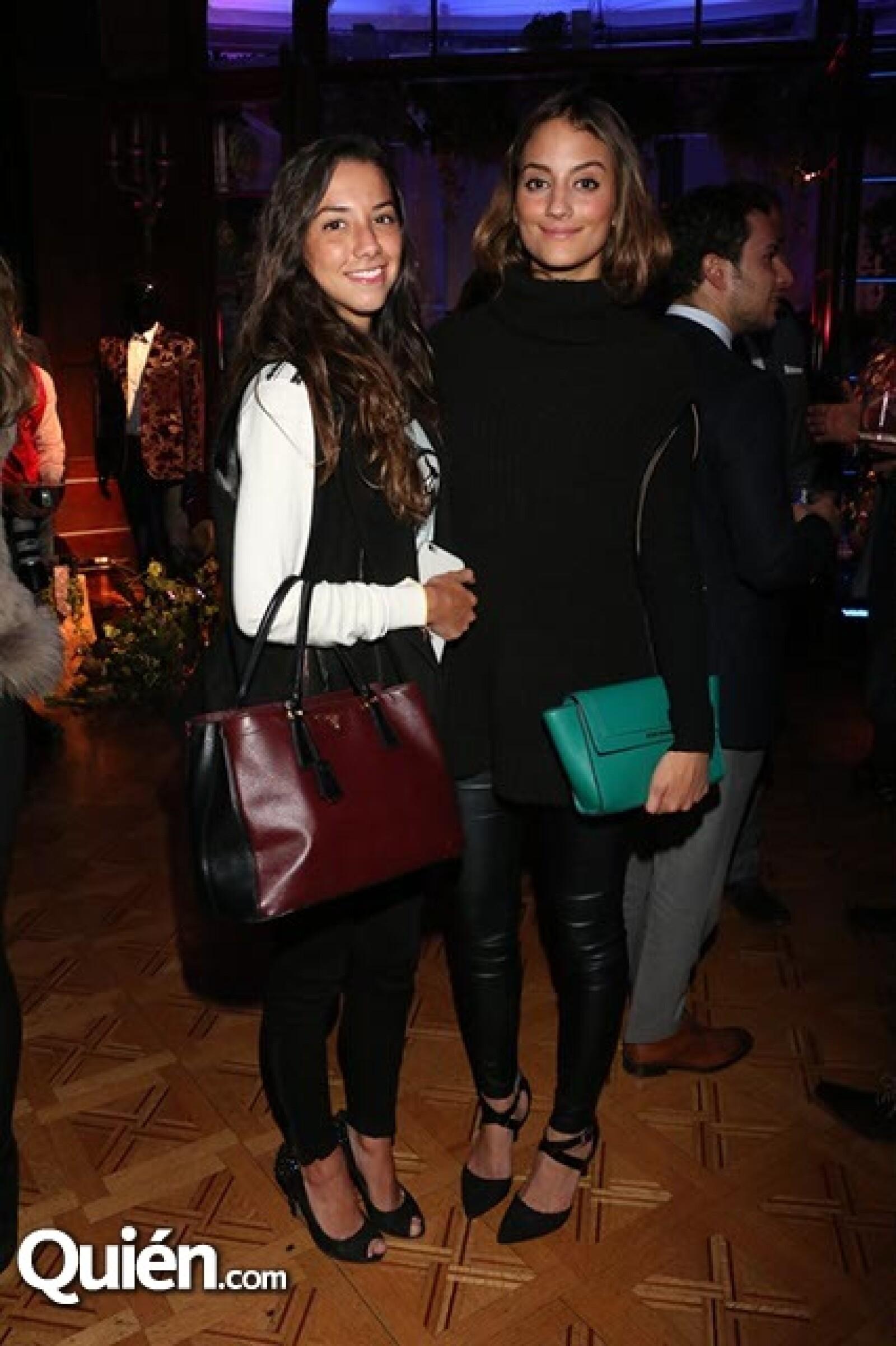 Norma García y Fernanda Valenzuela