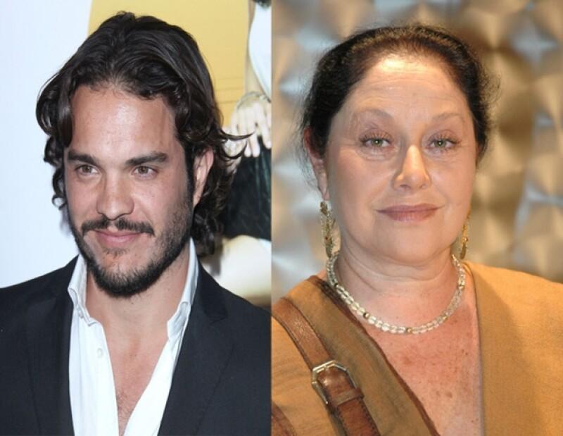 Los actores mexicanos Kuno Becker y Angélica Aragón son protagonistas de la cinta De México con amor.