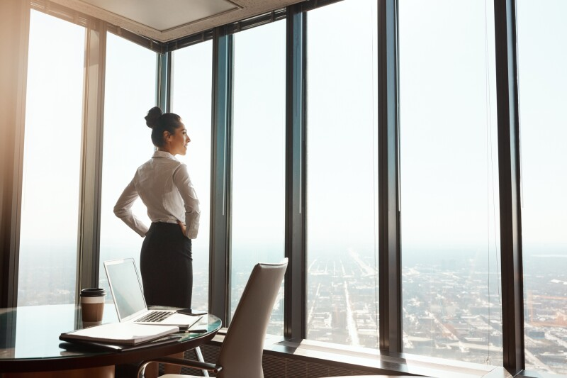 At the top of the business world