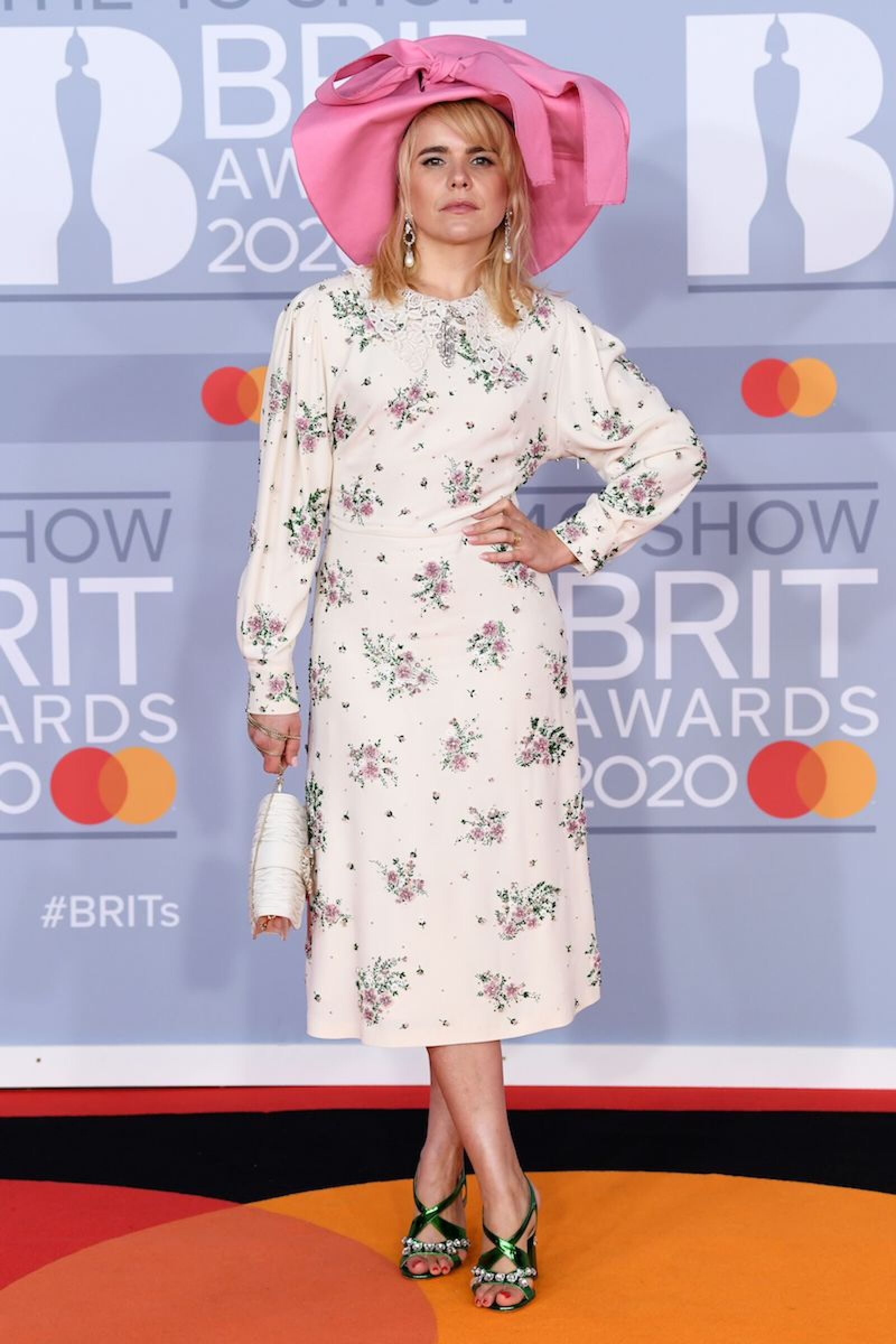 40th Brit Awards, Arrivals, Fashion Highlights, The O2 Arena, London, UK - 18 Feb 2020