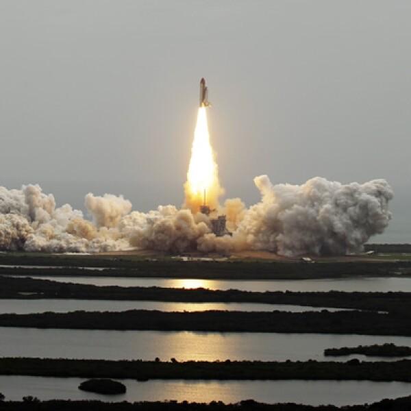 La nave espacial Atlantis emprendió su último vuelo hacia el espacio el 8 de julio.