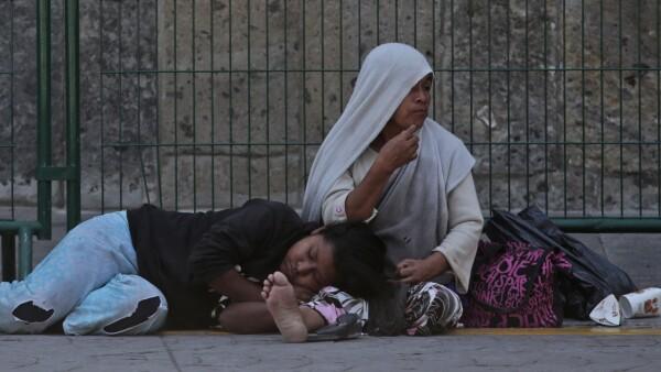 Pobres en México