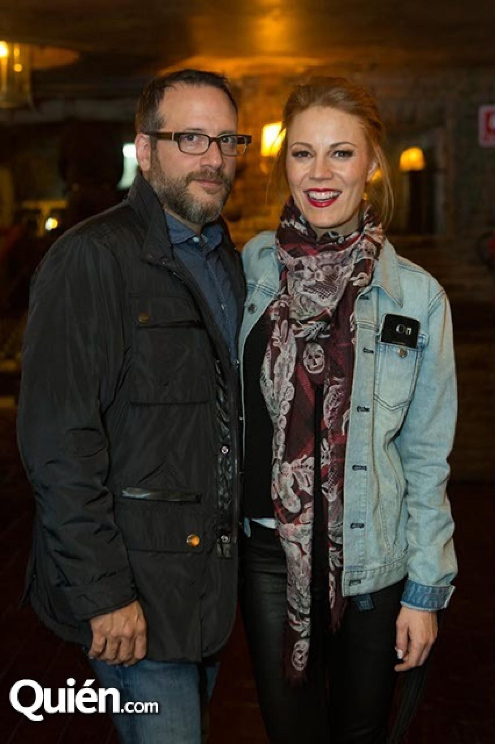 Jack Chernistski y Daniela Magún