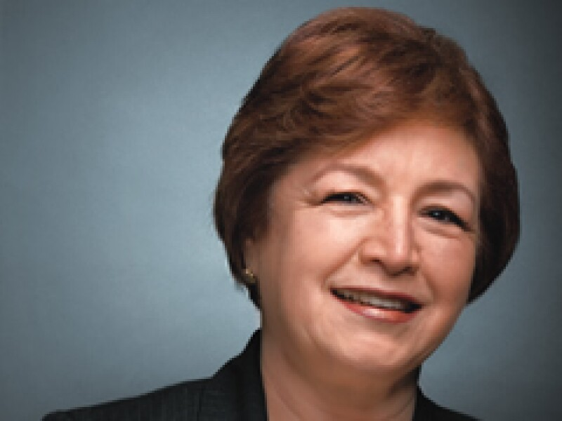 María Guadalupe Morales, vicepresidenta de Operaciones de Wal-Mart Supercenter, ocupa el lugar 29 en el ranking. (Foto: Gilberto Contreras)