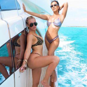 Kourtney y Khloé Kardashian