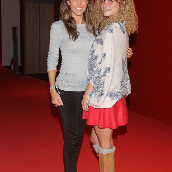 Pilar Rueda y Fernanda Fosado