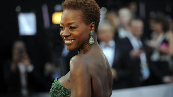 VIOLA DAVIS. La actriz estuvo nominada al Oscar en la categoría de Mejor Actriz por la película `The Help´.
