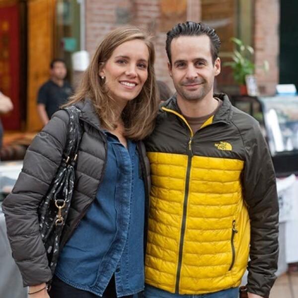 Claudia y Ricardo Roel