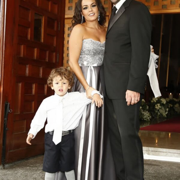 Jorge Moreno, Daniela Goñi y Jorge Moreno