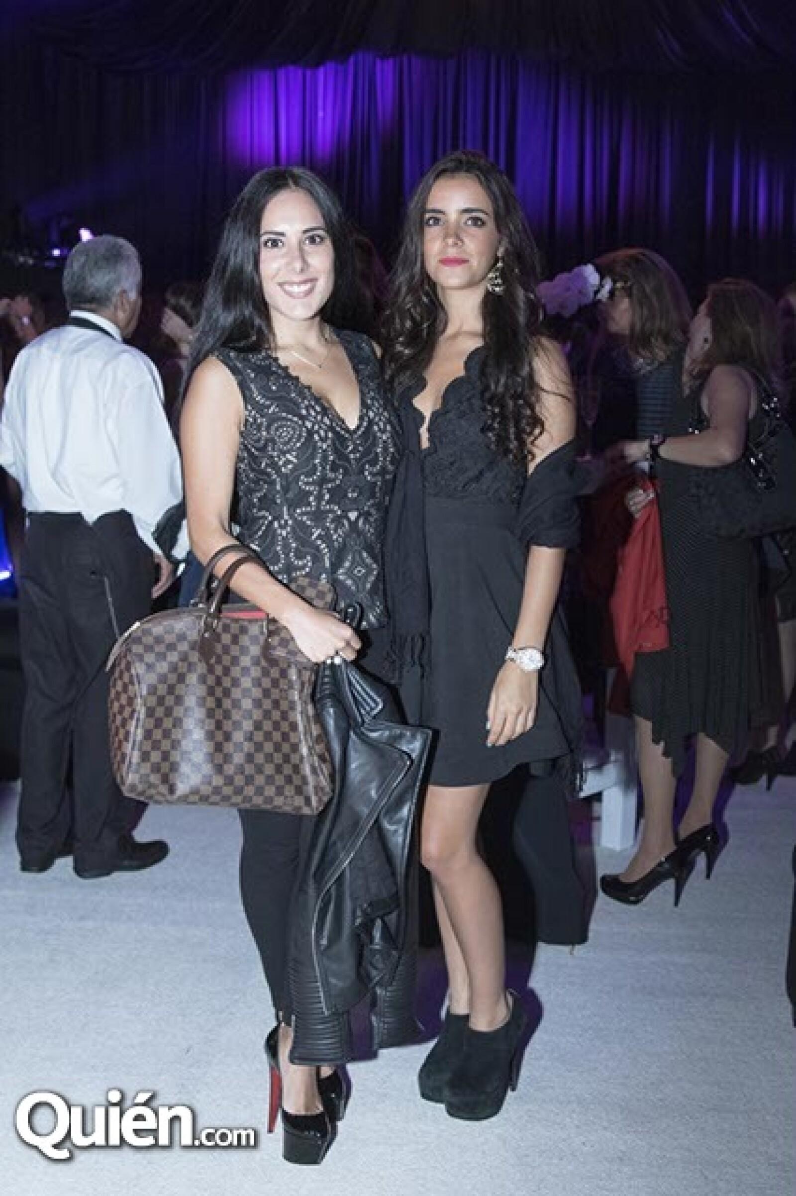 Fernanda Roco y Andrea Iza