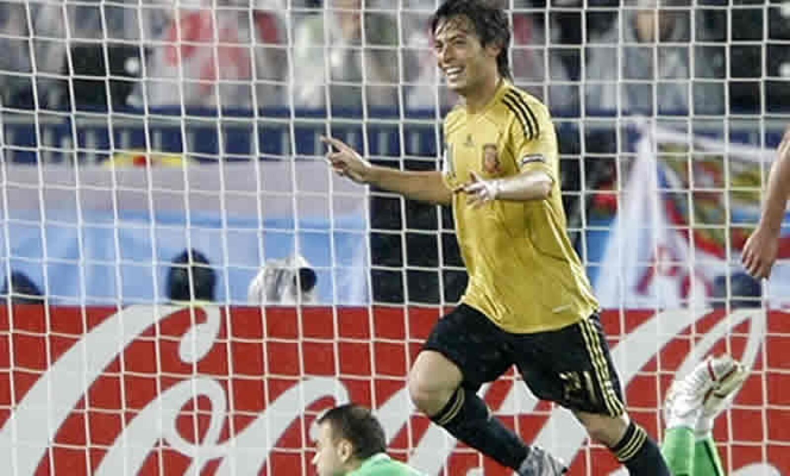 El jugador, suplente gran parte del pasado Mundial, fichó por el equipo inglés Manchester City para esta temporada.