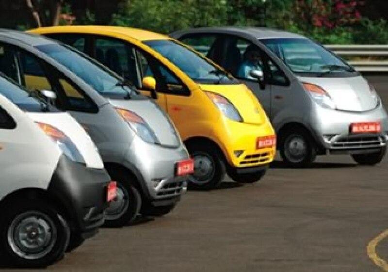 El auto nano, de Tata, se abre paso en el mercado. (Foto: Archivo)