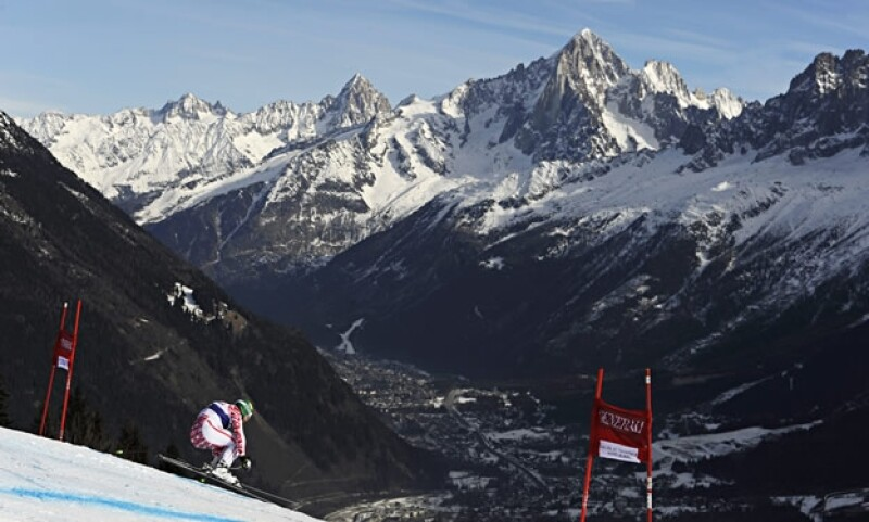 Chamonix, Francia Glacial de Bossons