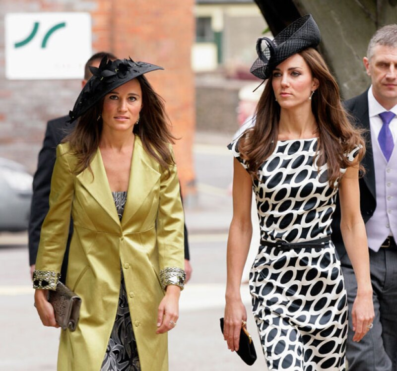 Pippa es hermana de Kate Middleton, duquesa de Cambridge.