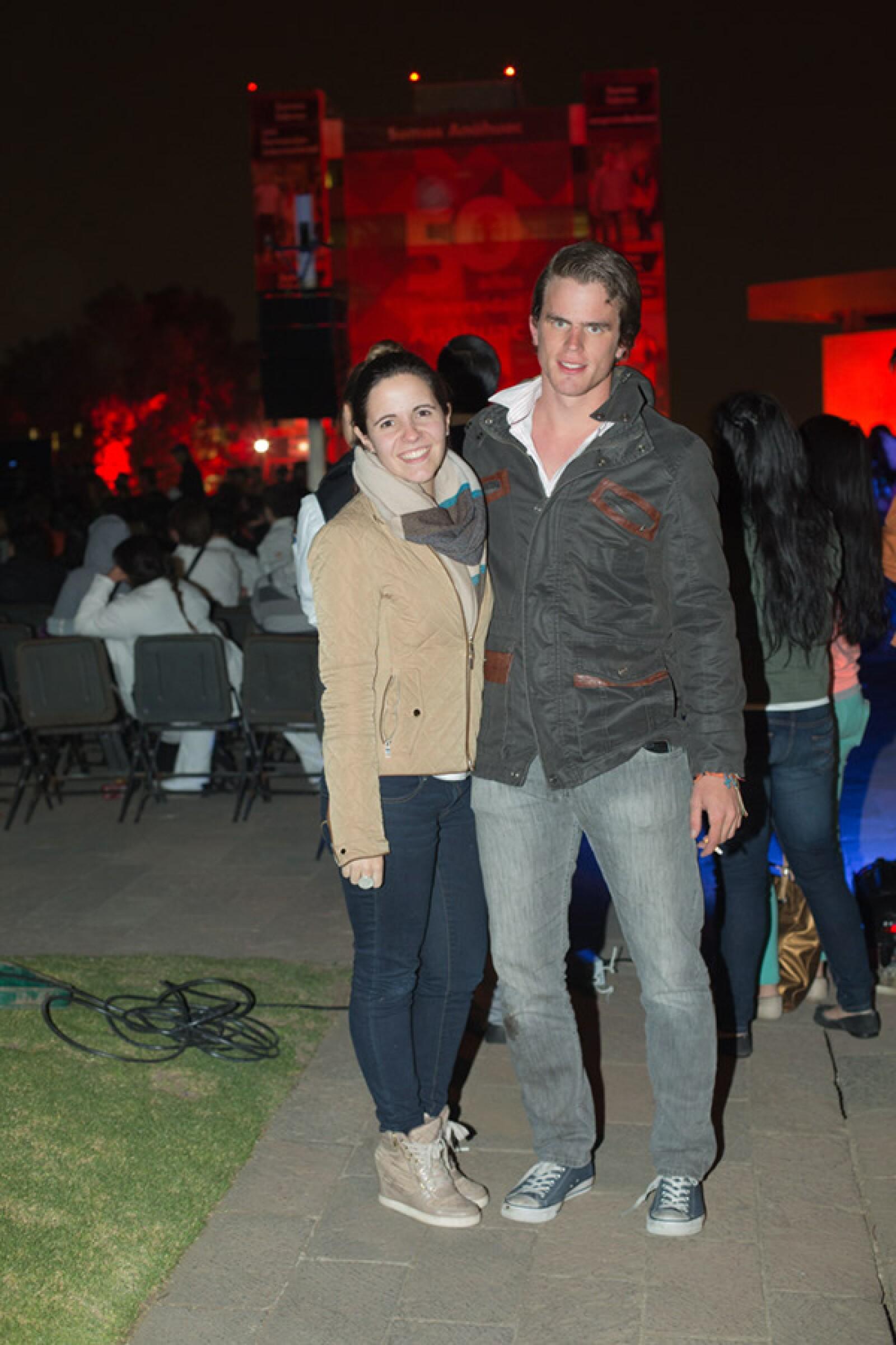 Ximena Montes y Ricardo Pahuss