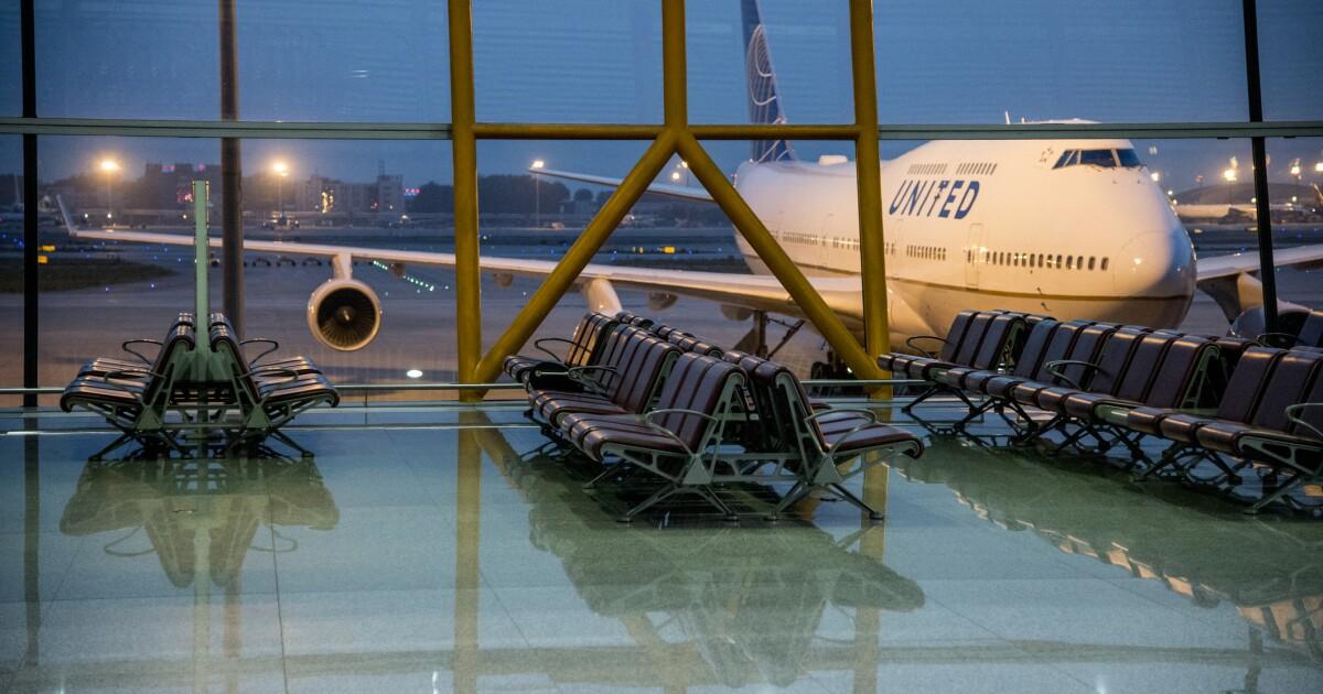United Airlines pierde 7,100 millones de dólares en 2020 por el COVID-19