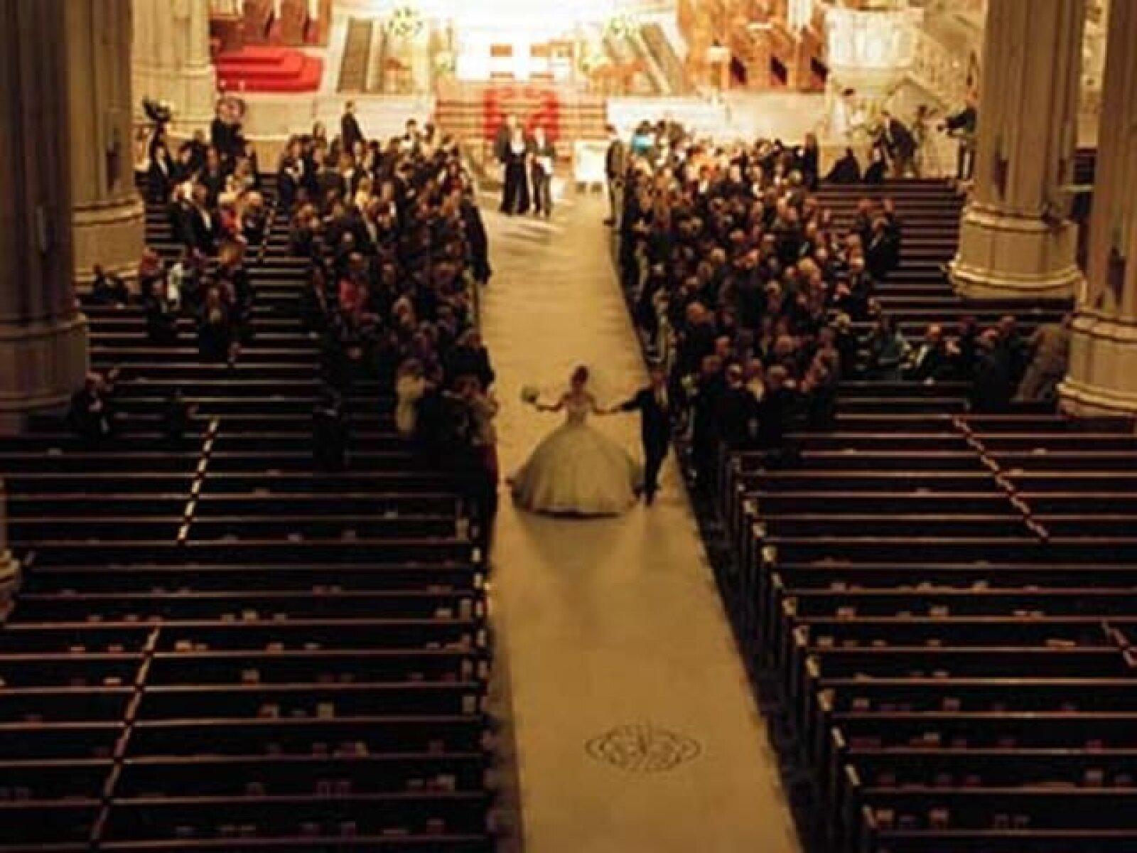 Su boda fue considerada el evento del año.