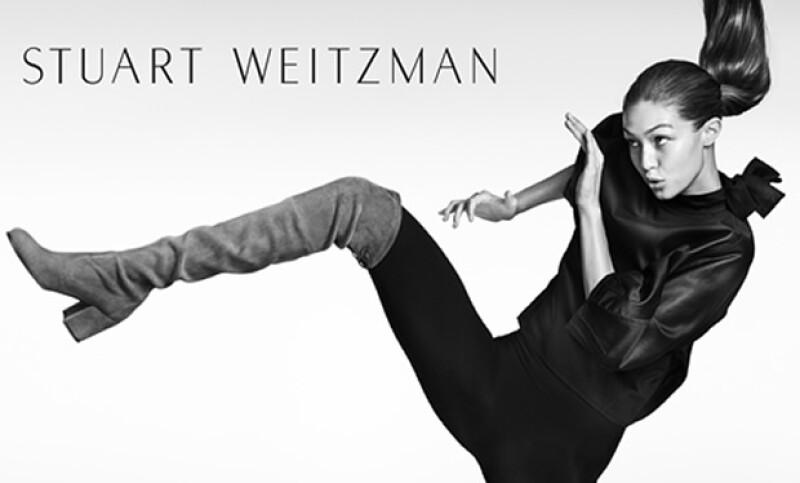 La modelo demuestra sus increíbles dones en la nueva campaña de Otono 2016 de la firma, siendo fotografiada durante su workout.