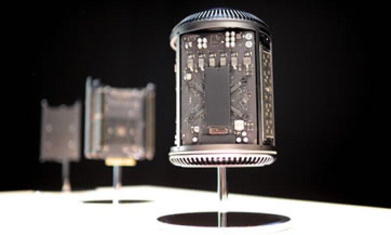 La Mac tiene una forma cilíndrica que permite una mejor ventilación. (Foto: Getty Images)