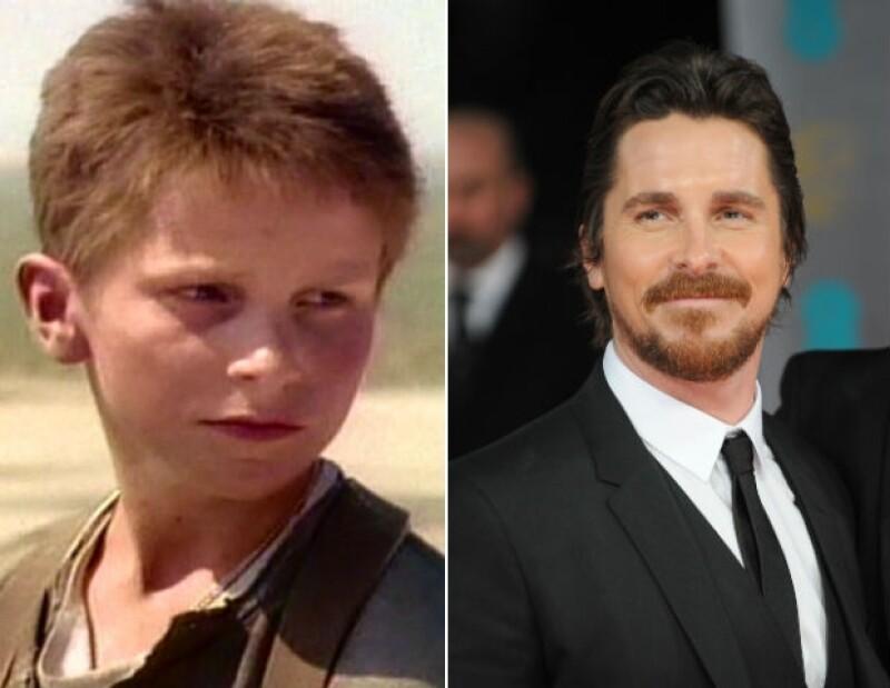 Christian Bale tuvo la suerte de debutar al lado de Spielberg.