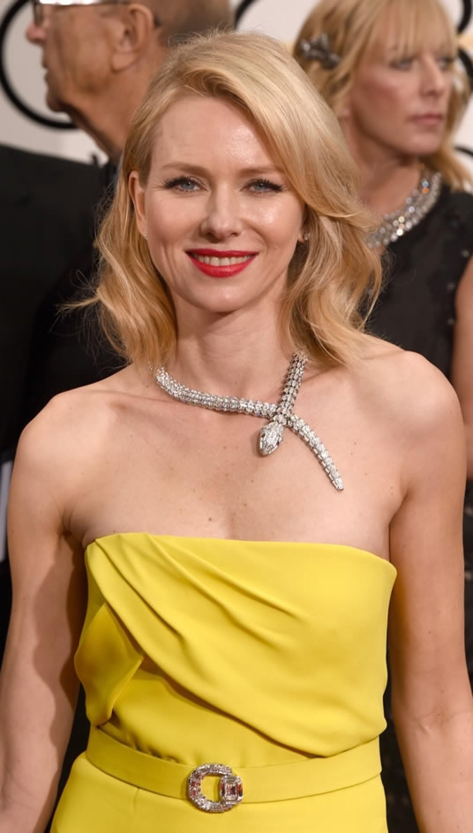 La actriz Naomi Watts, que también participó en 'Birdman'