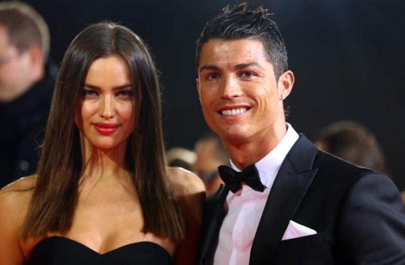 Irina y Ronaldo son considerados la pareja más sexy del futbol.
