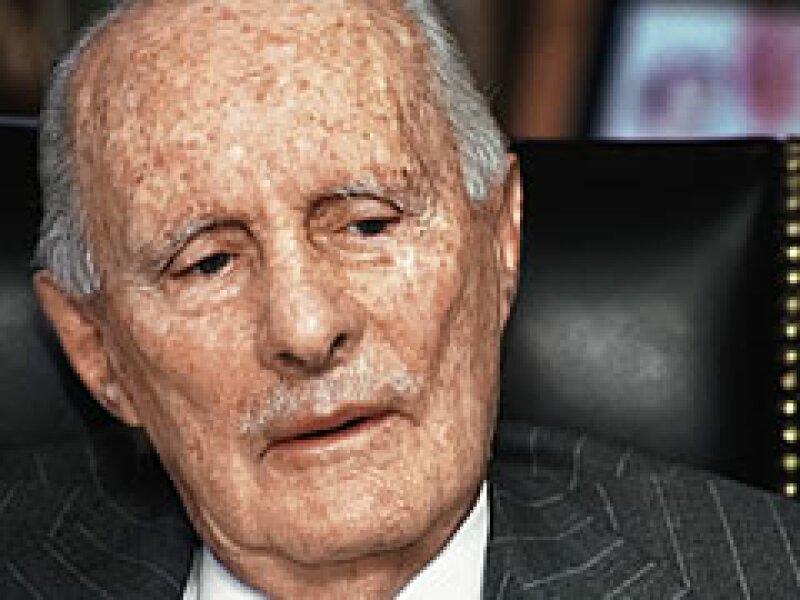 Juan Sánchez Navarro, por años, ideólogo de los empresarios. (Foto: ProcesoFoto)