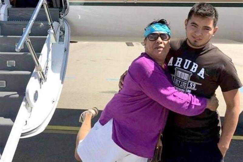 """Su nombre es Efraín Martínez y aseguran que fue el último amor del """"Divo de Juárez"""" desde hace dos años."""