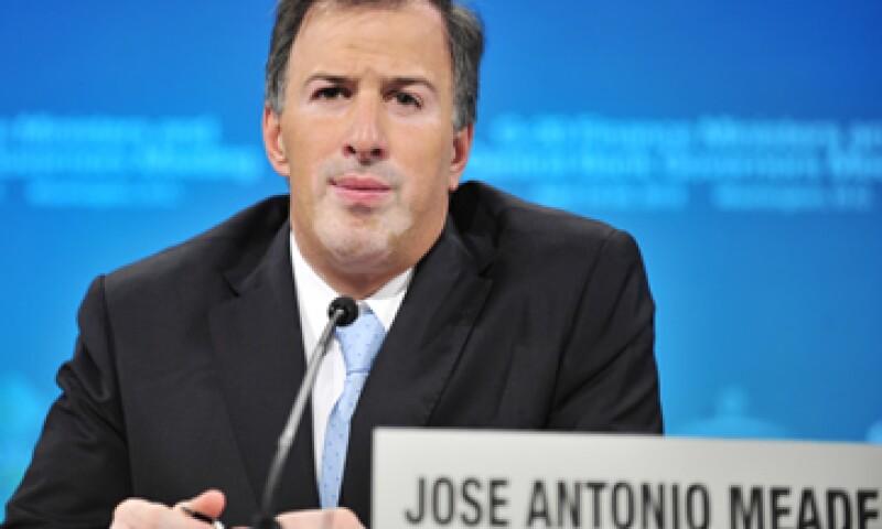 José Antonio Meade señaló que no ha habido ni hay intenciones políticas en el manejo de los recursos. (Foto: Notimex)