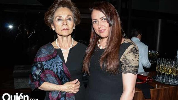 Guadalupe Bauer y Liliana Páez.