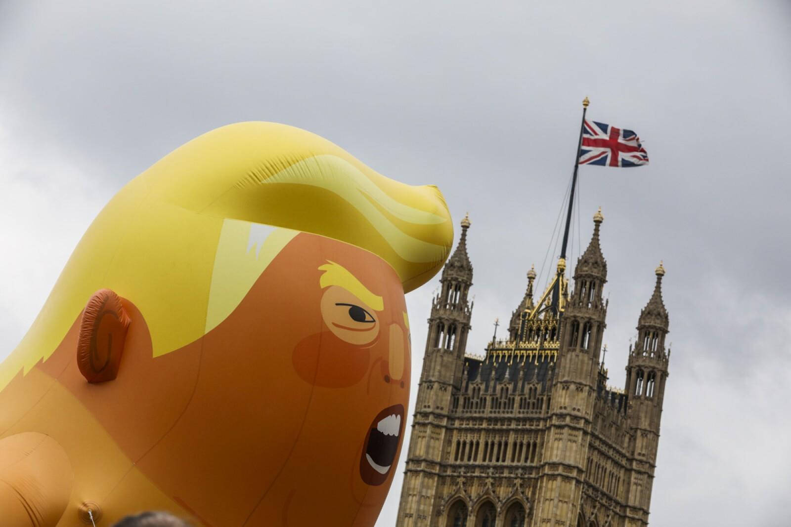 Donald Trump visita Gran Bretaña